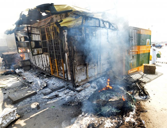 Photo of Mayhem   as Truck Drivers, Task  Force Officials Clash at Ports