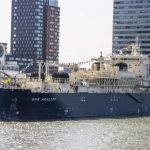 World's Largest LNG Bunker Vessel Named in Rotterdam